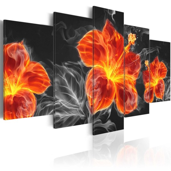 Tavla - Fire Lily Size: 200x100