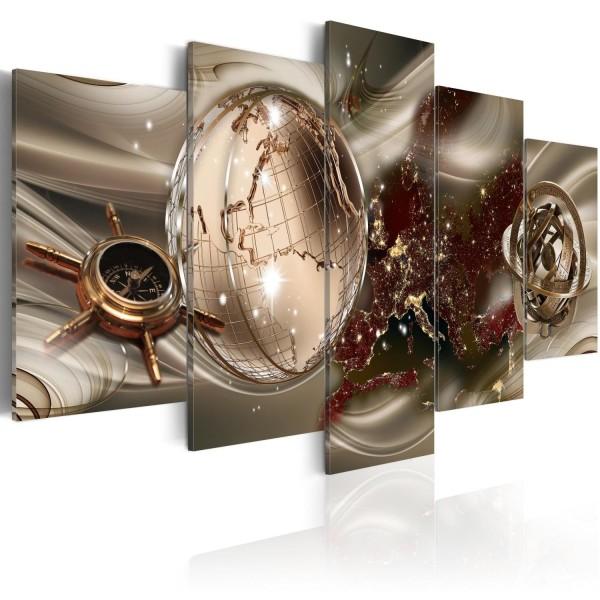Tavla - Golden Compass Size: 200x100