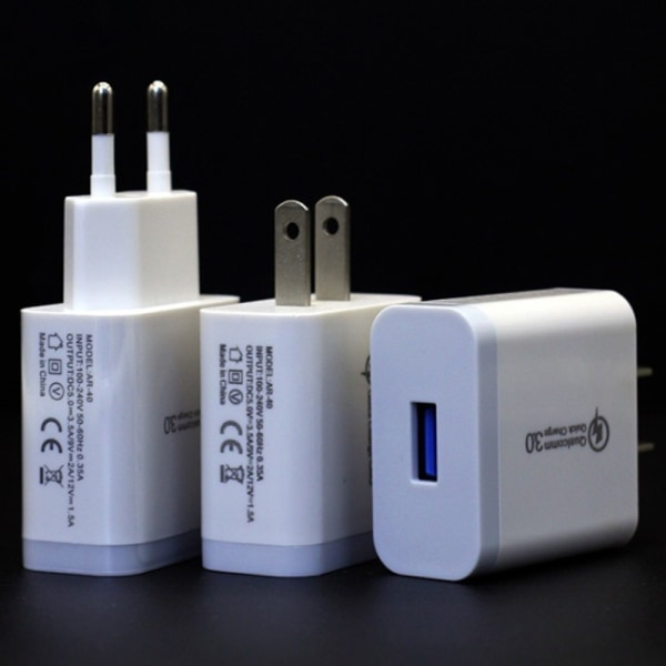 3 USB Ports Phones Adaptor Charger