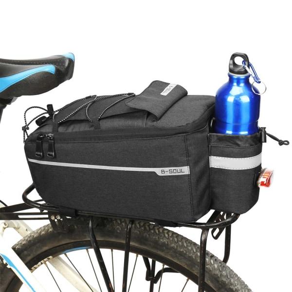 Cykelsits Bakväska Bike Pannier Rack Pack Grey