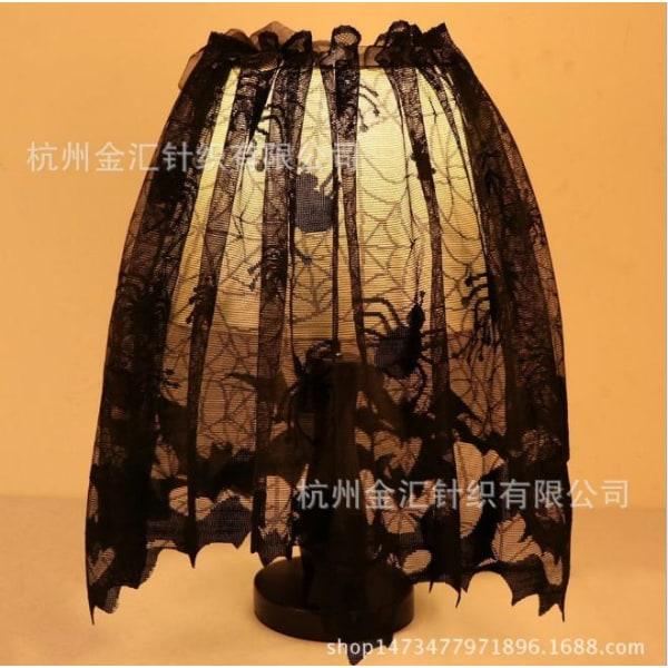 Black Lace Bat Shade lampshade