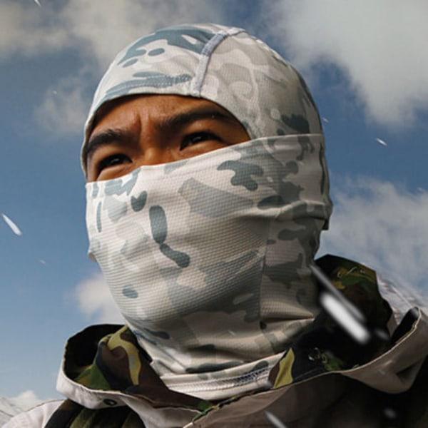 Camouflage Balaclava Tactical Mask Hunting Windproof #5