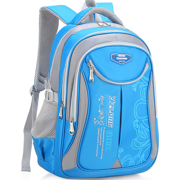 Child Shoulderbag School Light Backpack Blue L