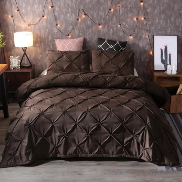 EU US 3 pcs of Bedding Set Bedclothes Set White US FULL 200*230