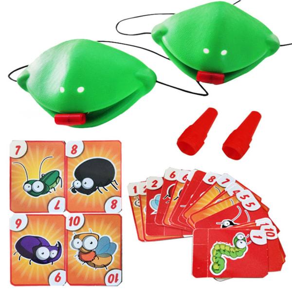 Family Game Catch Bug Tongue Board Game yulu Tic Tac Tongue