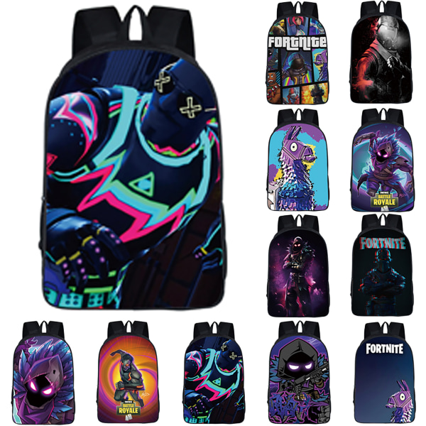 Fortnite USB Fortress Night Student School bags Backpack As Pics 8