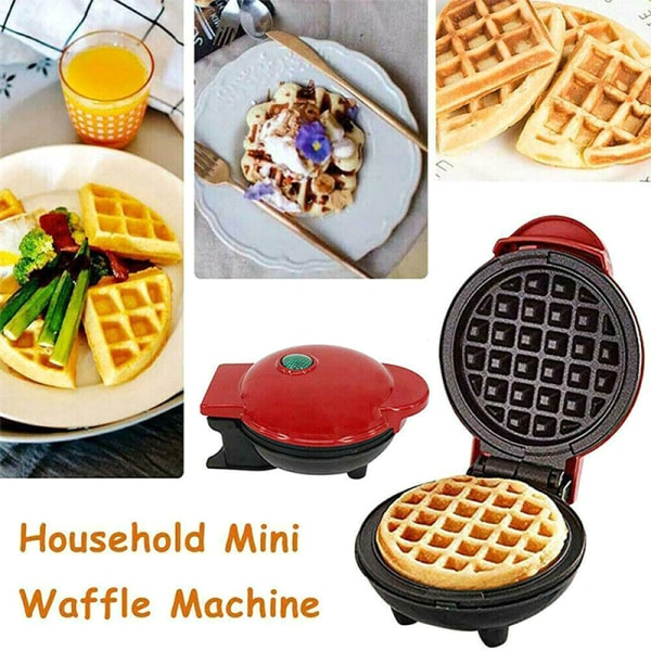 Household Mini Waffle Bread Maker Machine