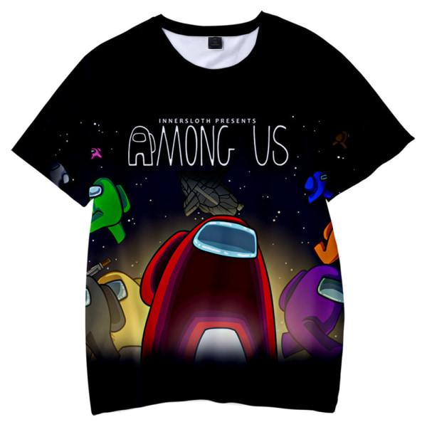 Barn bland oss 3D-T-shirt Toppar Pojkar Flickor Tonåring T-shirt