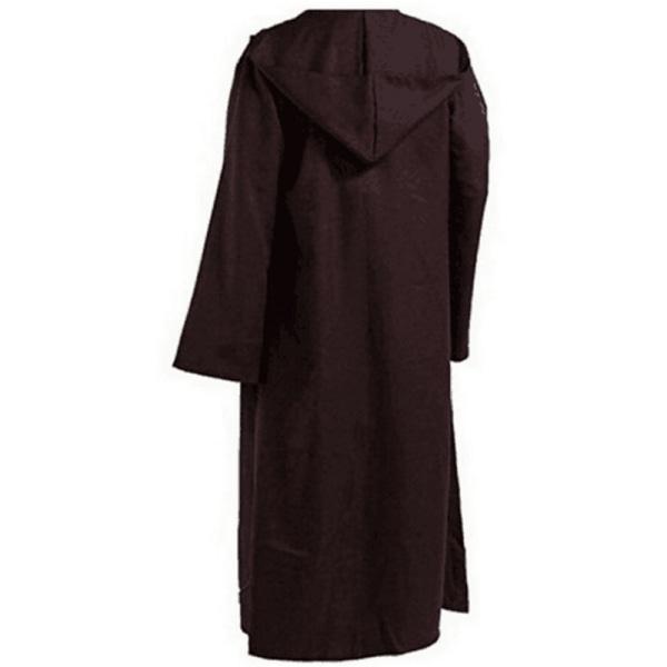 Party Anime Cosplay Star Wars Jedi Cloak Creative Funny Dress Up Coffee XL