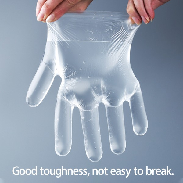 Plastic Disposable Gloves Home Anti-dust Skydd