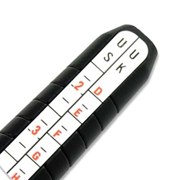 Ring Sizer Dorn Stick Finger Gauge Smycken Kit