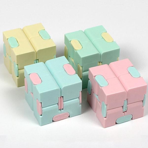 Fidget Cube Toy Sensorisk finger Rubiks kub för barn vuxengåva