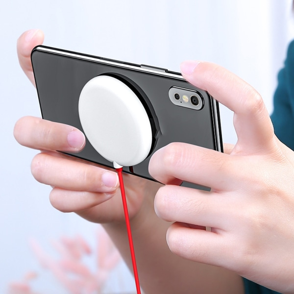 Smart Phone Wireless Charging Mini Stick-on Wireless Charger Pad