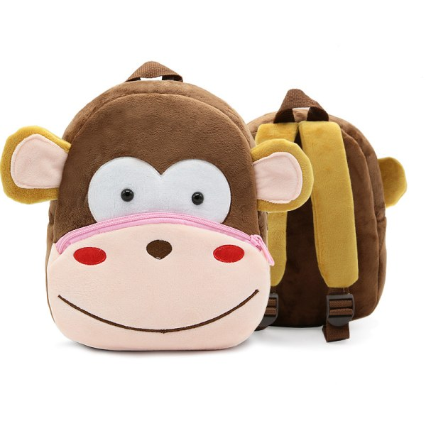 Toddler Backpack Plush Doll Toy Schoolbag Pics 11