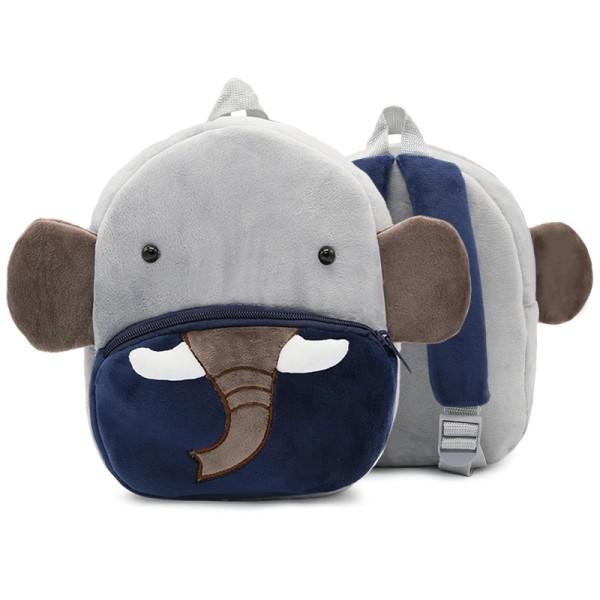 Småbarn ryggsäck plysch docka leksak skolväska Pics 12
