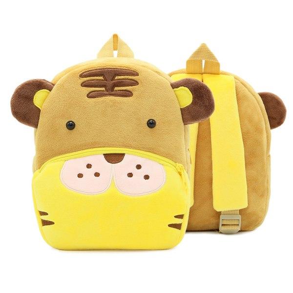 Småbarn ryggsäck plysch docka leksak skolväska Pics 13