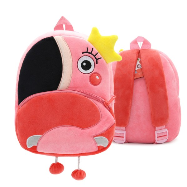 Småbarn ryggsäck plysch docka leksak skolväska Pics 2