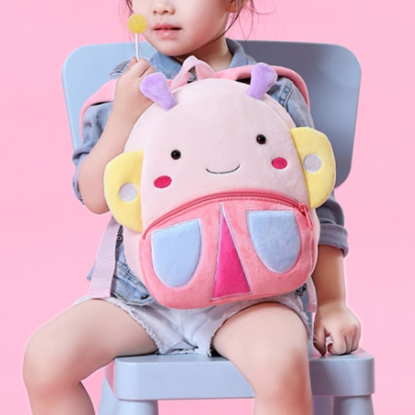 Toddler Backpack Plush Doll Toy Schoolbag Pics 5
