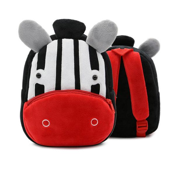 Småbarn ryggsäck plysch docka leksak skolväska Pics 7