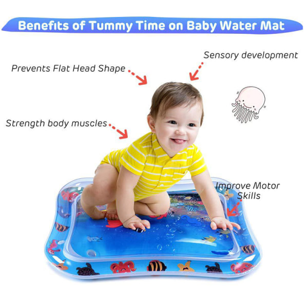 Tummy Time Baby Inflatable Water Play Mat octopus