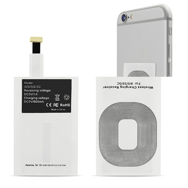 Wireless Charging Receiver for iphone 7/6/5/5s/5c Reverse