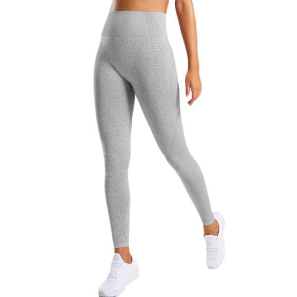 Kvinnors butteri mjuka hög midja yogabyxor full längd leggings