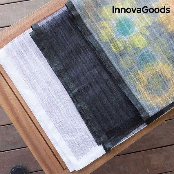 Myggnätsdörr med Magneter (vit)