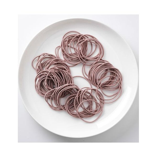 100-pack Hårsnoddar (rosa) Rosa