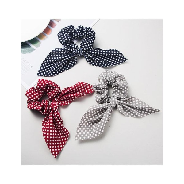Prickig Scrunchie med Band (rosa) Rosa