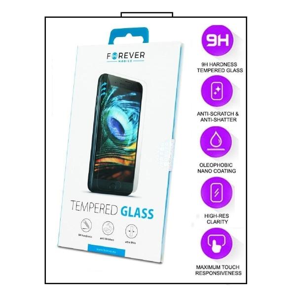 2-Pack Motorola Moto E6s - FOREVER Härdat Glas Displayskydd Transparent