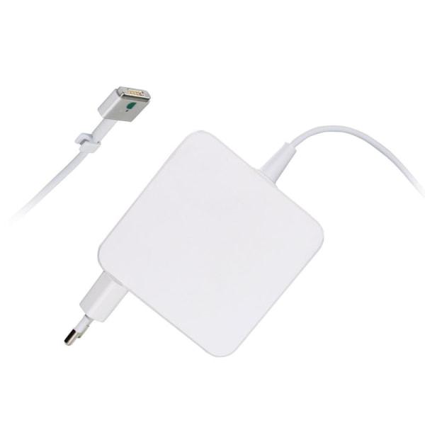 Laddare till Apple MacBook - 60W Magsafe 2 (T-kontakt), 1.7m Vit
