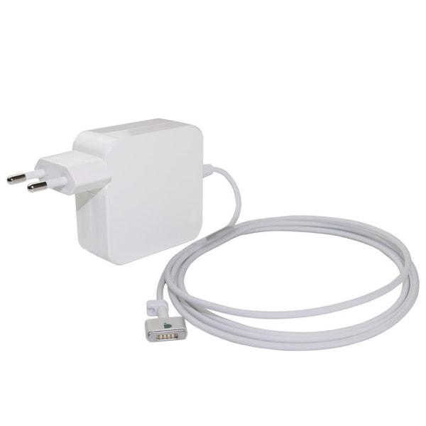 Laddare till Apple MacBook - 85W Magsafe 2 (T-kontakt), 1.7m Vit