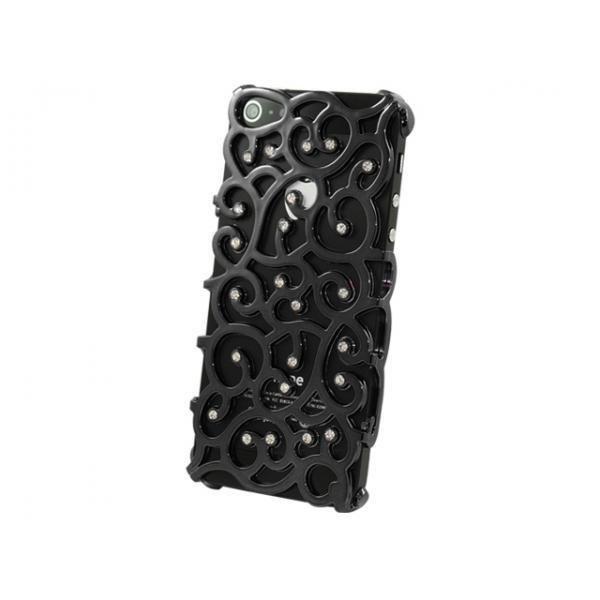 iPhone 5 / 5s / SE Fancy Skal Bakstycket med Displayskydd -Svart Svart