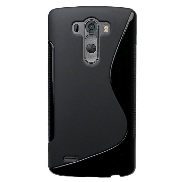 LG G4 - S-line Gel Skal - Svart Svart