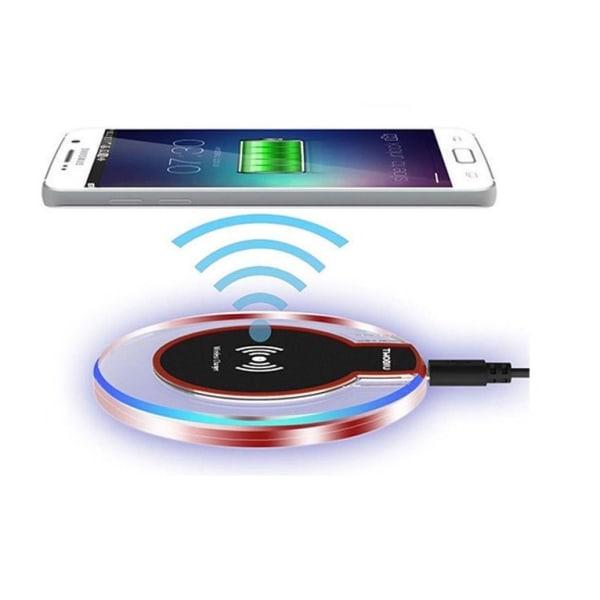 Qi Trådlös laddare - Snabbt laddning -  För iPhone / Android