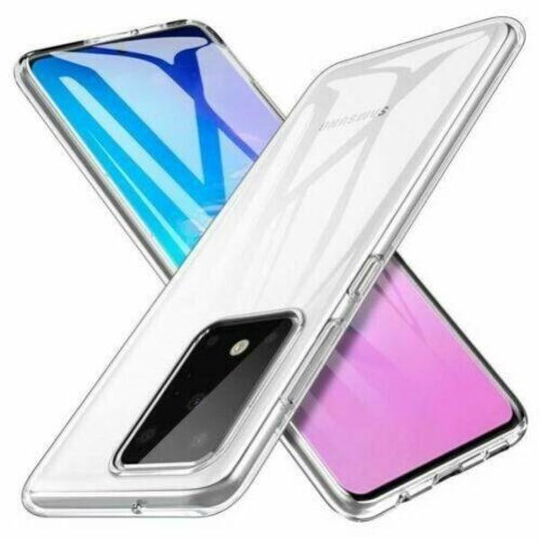 Samsung Galaxy Note 20 - Transparent Slim Skal  Transparent