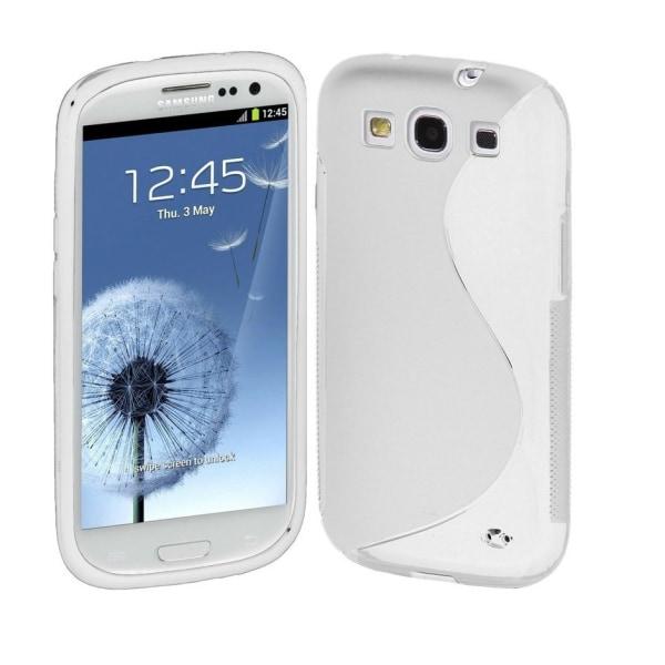 Samsung Galaxy S3 TPU Skal - Transparent + Displayskydd