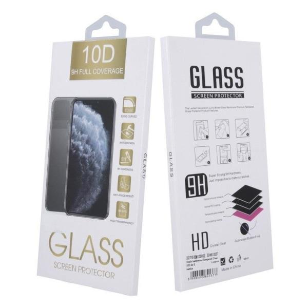 Xiaomi Redmi Note 9 - 10D Helskärm Härdat Glas Transparent