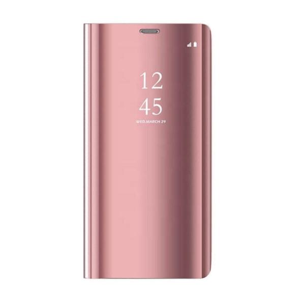 Xiaomi Redmi Note 9 - Smart Clear View Fodral - Rosa Pink
