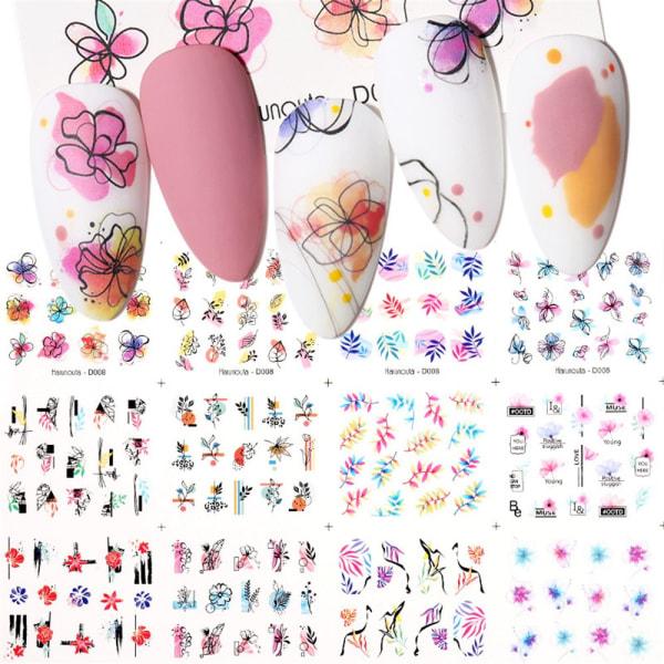 12st Nail Stickers Geometrics TYPE 6 type 6