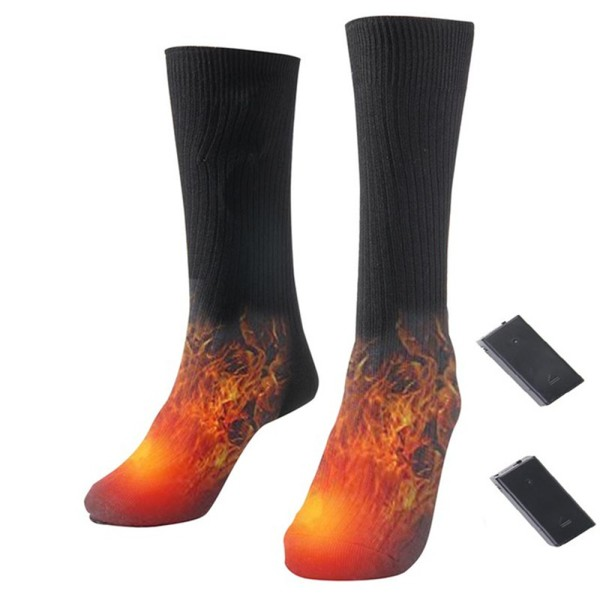 Electric Heated Socks Foot Warmer Thermal Cotton Battery Power
