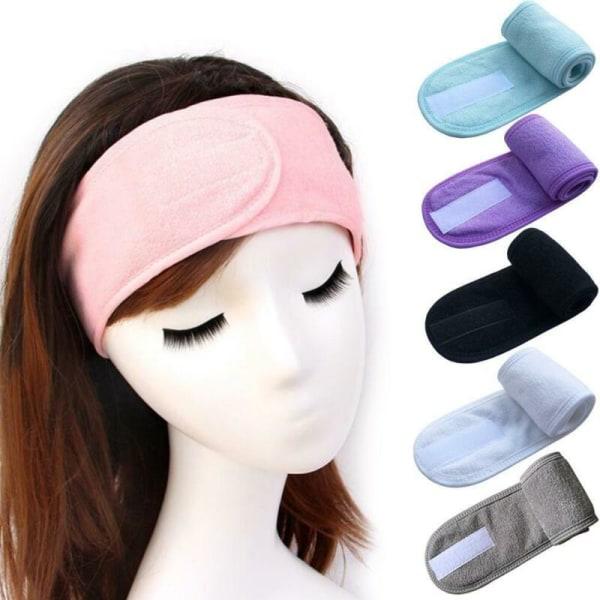 Justerbar Wrap Turban Women Hair Band Makeup Headbands SPA