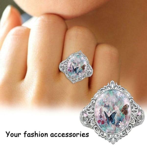 Ring för kvinnor Smycken Gåvor Vigselring