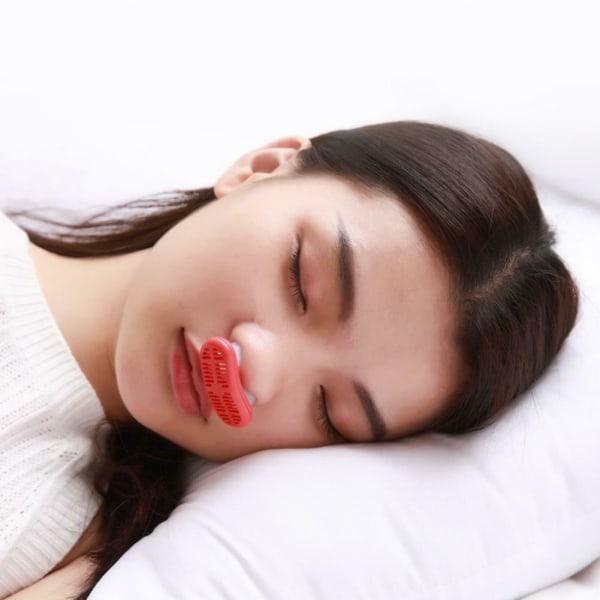 Silikon Anti Stop Sleep Apnea Aid Device Stoppa snarkningsklämma