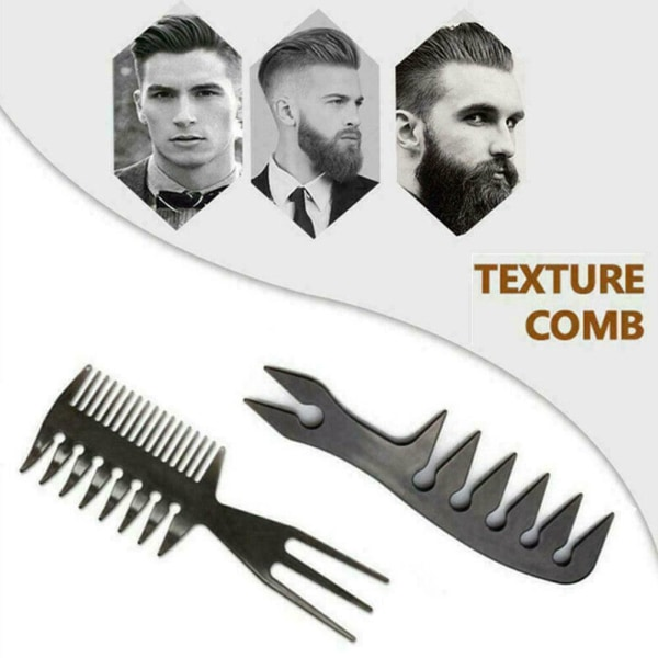 Slicked Back Professional Styling Comb Anti Static Hair Hot