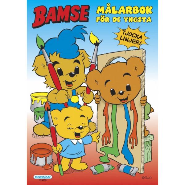 Bamse målarbok för de yngsta