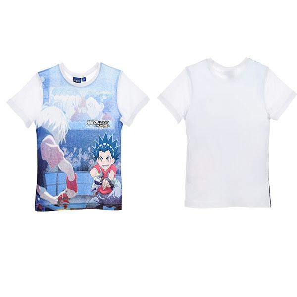 Beyblade kortärmad T-shirt 4 ÅR - 104 CM