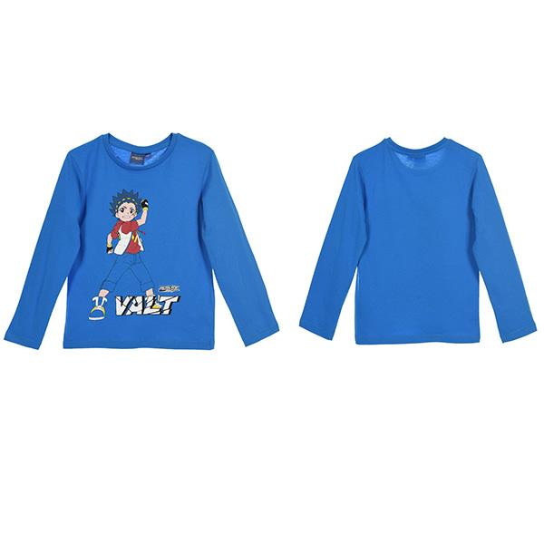 Beyblade Valt långärmad T-shirt Blå 4 ÅR - 104 CM