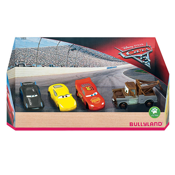 Disney Cars 4-pack Bullyland