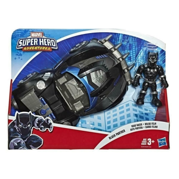 Super Hero Adventures Black Panther med fordon